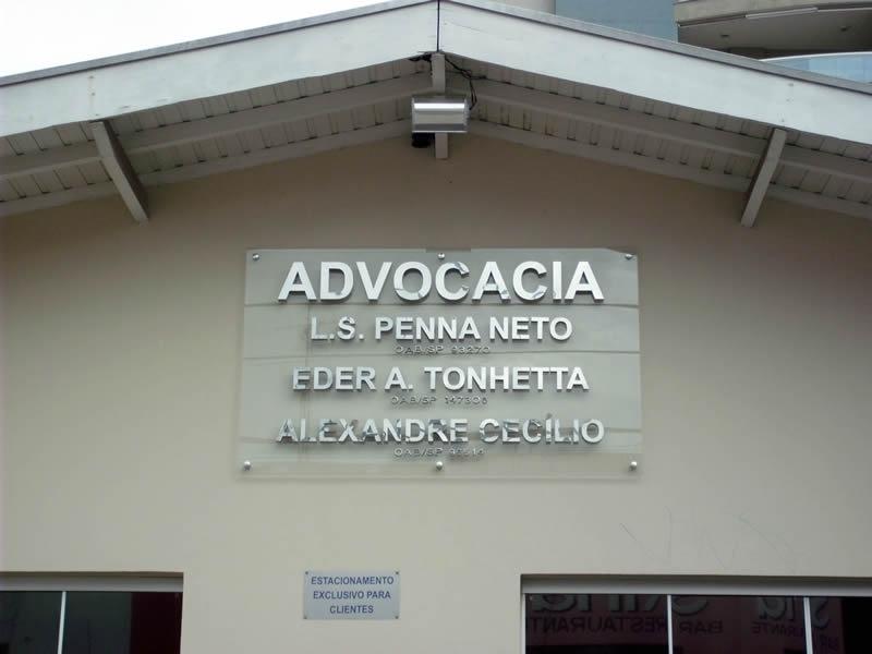 Fachada de Vidro Advocacia Iguape - Fachada com Vidro Insulado