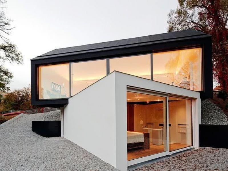 Fachada de Vidro Residencial Canguera - Fachada de Vidro para Loja