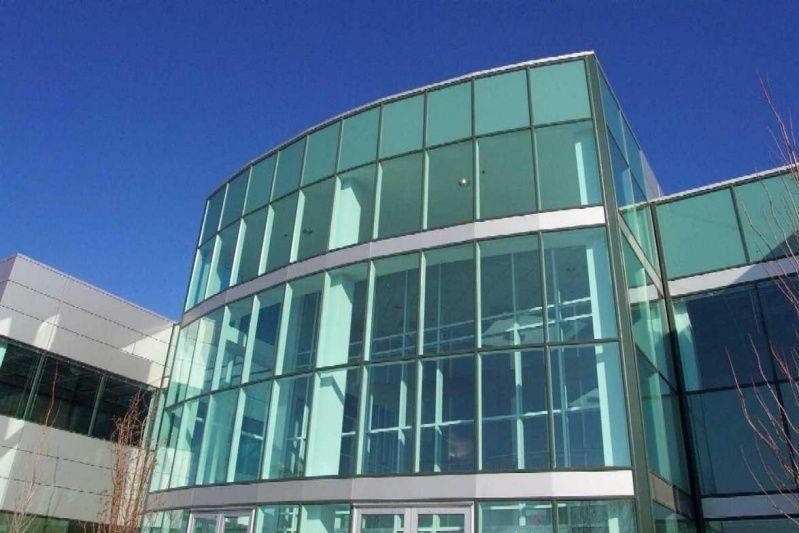 Fachada de Vidro Temperado Verde Franca - Fachada de Vidro Comercial