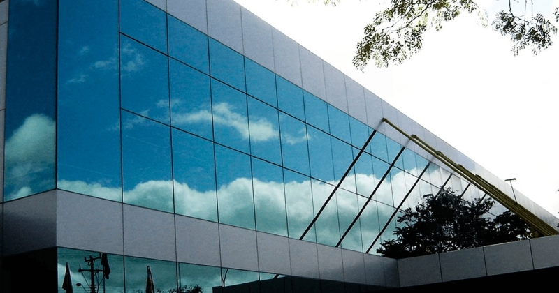 Fachadas de Vidro Temperado Verde ABC - Fachada de Vidro Advocacia