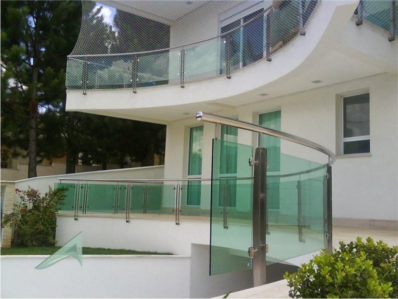 Instalação de Fachada de Vidro com Inox Taubaté - Fachada de Vidro com Inox