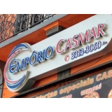 comprar fachada de acm preto São Carlos