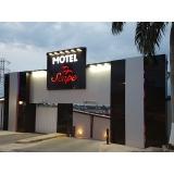 comunicação visual para motel Praia da Baleia
