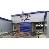 cotação para fachada de empresa hoteleira Ibitiruna