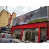 cotação para fachada de loja em lona Araçatuba