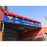 cotação para fachada loja moderna Santa Rita do Ribeira