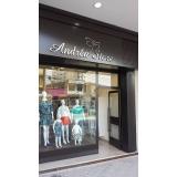 cotação para fachada loja roupa São Sebastião
