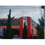 custo para revestimento fachada acm Batatuba