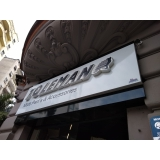 empresa de fachada em acm com led para hotel Marapoama