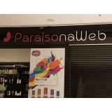 empresa de fachada loja shopping Louveira