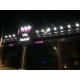 empresa que faz fachada de hotel luminoso Araraquara