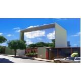 fabricante de fachada de vidro comercial São Vicente