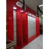fabricante de fachada de vidro para loja Itatiba