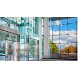fachada com vidro insulado cotação Itanhaém