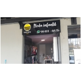 fachada de empresa comunicação visual Peruíbe