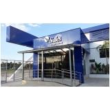 fachada de empresa moderna Vila Élvio