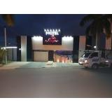 fachada de hotel de luxo Caraguatatuba