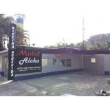 fachada de hotel simples Cananéia