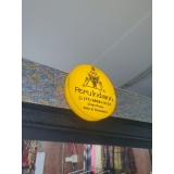 fachada de loja amarela orçamento ABC