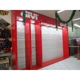 fachada de loja com porta de vidro valores Litoral
