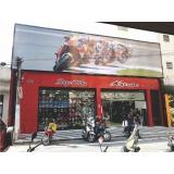 fachada de loja em lona valor Vinhedo