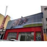fachada de loja em lona litoral paulista