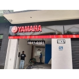 fachada de loja moderna valor Votuporanga