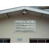 fachada de vidro advocacia Santa Rita do Ribeira