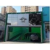 fachada de vidro comercial Vila Batista