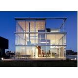 fachada de vidro para varanda valores Itu