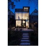 fachada de vidro residencial cotação Itu