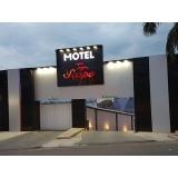 fachada hotel moderno preço Santa Rita do Ribeira