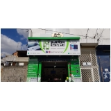 fachada loja celular orçamento Rio Claro