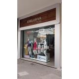 fachada loja roupa valor Tanquinho