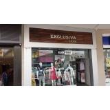 fachada loja roupa Amparo