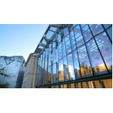 fachada vidro temperado Peruíbe