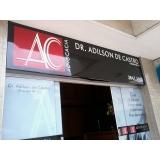 Placa de Fachada Acm