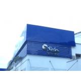 fachadas de empresas modernas Araras