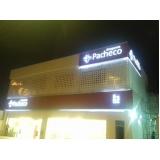 fachadas de empresas pequenas Bacaetava