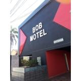 fachadas de hotéis simples Batatuba