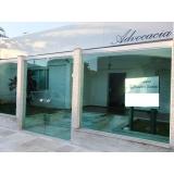 fachadas de vidro advocacia Araçoiabinha