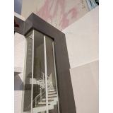fachadas de vidro temperado Mendonça