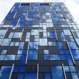 fachadas de vidro ventilada Bauru
