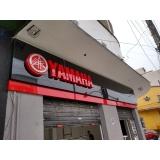 fachadas loja acrílico Bertioga