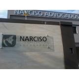instalação de fachada de vidro advocacia Santa Teresinha de Piracicaba