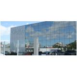 instalação de fachada de vidro comercial São Sebastião