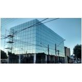 instalação de fachada de vidro refletivo Indaiatuba
