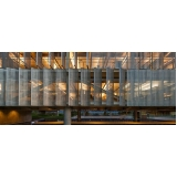 instalação de fachada de vidro ventilada Louveira