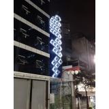 letreiro iluminado fachada preços Ibitiruna