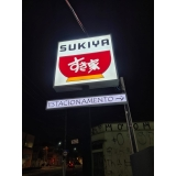 letreiro para fachada de loja preços Ibitiruna
